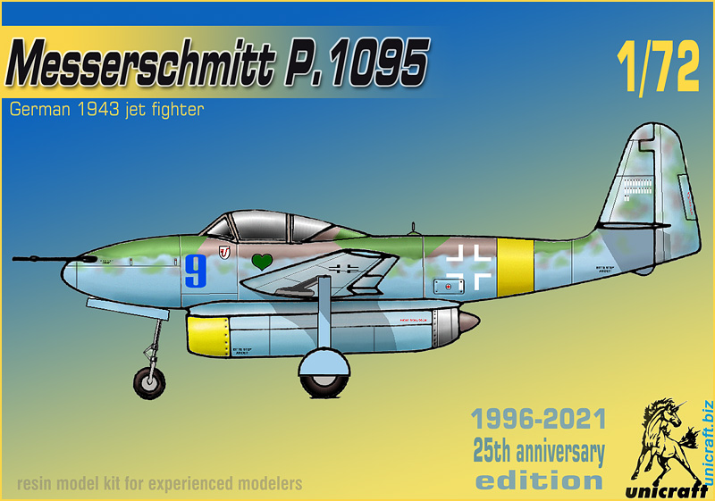 Unicraft Models 1//72 HEINKEL He.P.1065//1a German Fighter Bomber Project